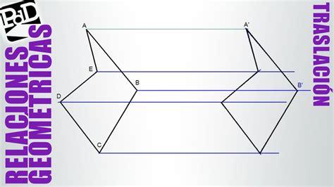 figuras geometricas de 4 lados traslaci 243 n de un pol 237 gono youtube