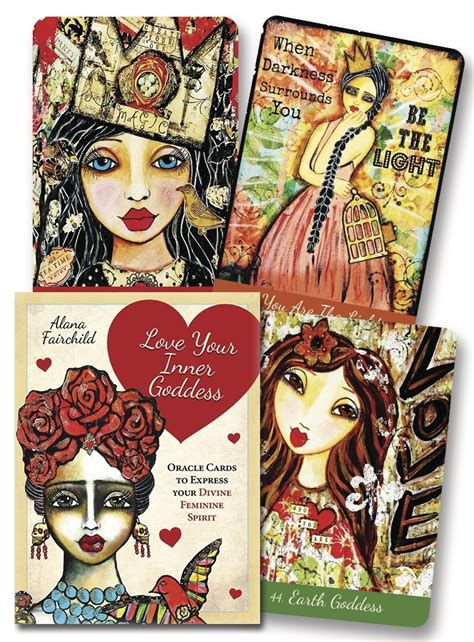 your inner goddess cards an oracle to express your feminine spirit books llewellyn worldwide your inner goddess cards