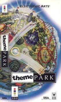 theme park bullfrog theme park 1994 by bullfrog 3do game