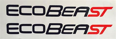Jdm Sticker Door Fit Rs ecobeast ecoboost carbon fiber decal ford focus st vinyl sticker jdm sti ebay