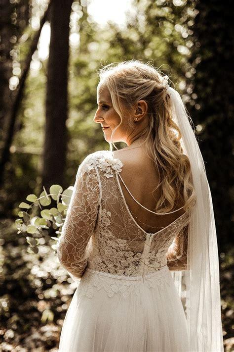 Brautfrisuren Halb Hochgesteckt Mit Schleier by 295 Best Brautfrisuren Und Haare F 252 R Hochzeit Images On