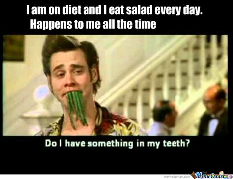 Salad Meme - i am on a diet and i eat salad everyday by omegacool