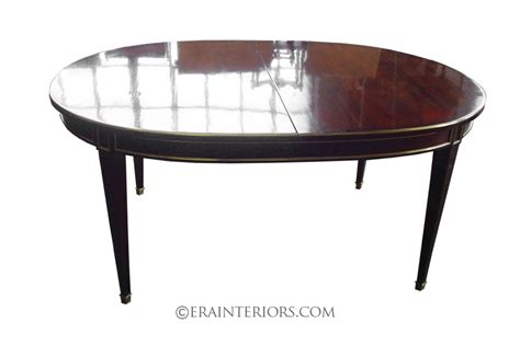 sheraton oval mahogany dining table era interiors