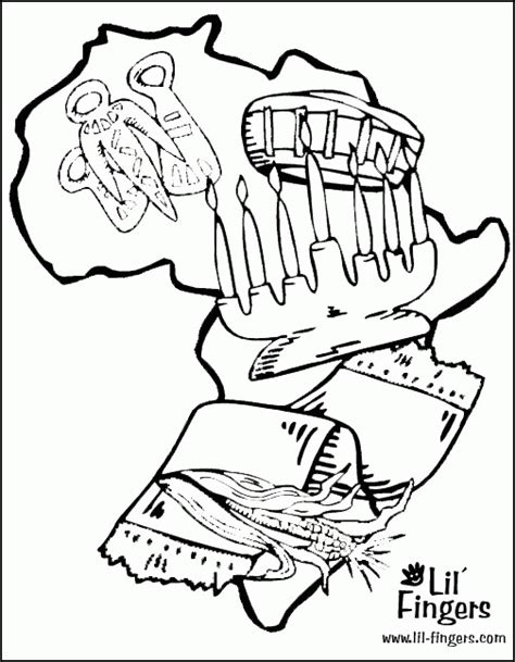 free coloring pages of kwanzaa kwanzaa coloring pages for kids coloring home