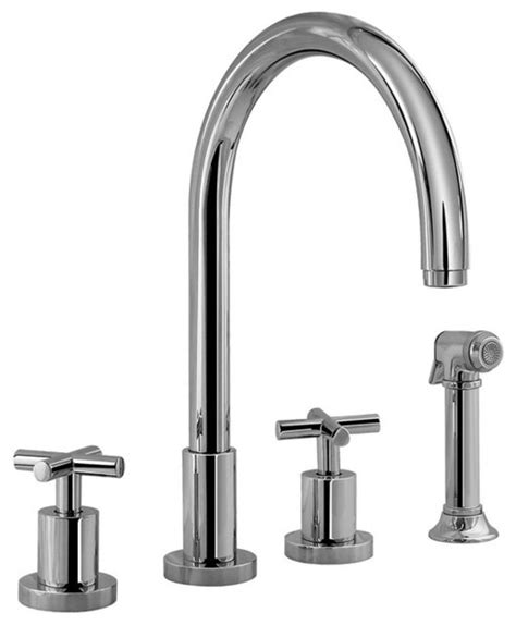 graff kitchen faucet graff infinity kitchen two handle faucet contemporary