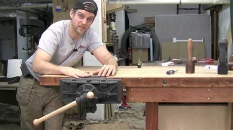 pattern makers woodworking vise installation youtube