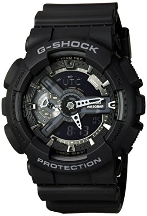 Promo Bagus Casio G Shock Ga 110 Army casio g shock x large display stealth black ga110 1b water and shock resistant