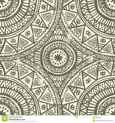 pattern making hindi hand drawn shabby indian seamless pattern stock vector