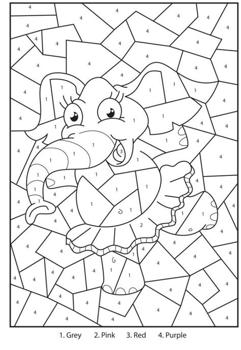 Addition Color By Number Pages Az Coloring Pages Addition Coloring Pages