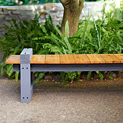 Backyard Bench Ideas Garden Variety Outdoor Bench Plans