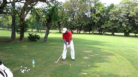 Minimalist Golf Swing Improves Ball Flight Of Leading
