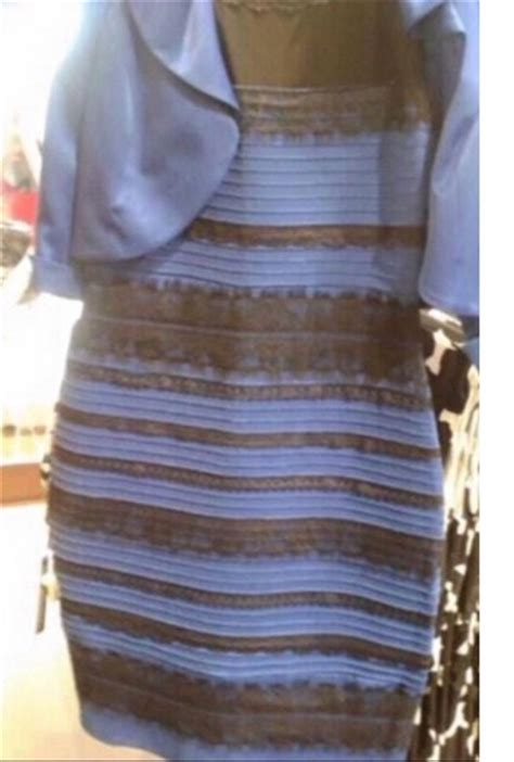 the dress is blue and black says the girl who saw it in the dress whiteandgold or blackandblue penelope