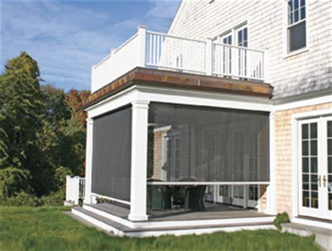Patio Screening Systems by Retractable Porch Screens