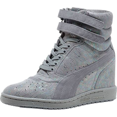 womens sneaker wedge sky iri suede s wedge sneakers ebay