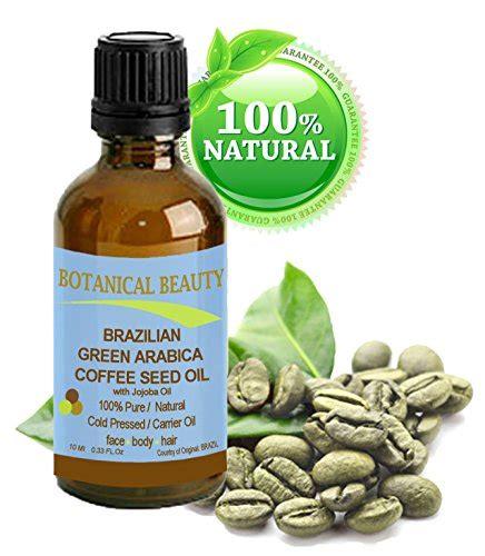 Sindoro Green Coffee Arabica green arabica coffee seed 100 cold pressed carrier for skin