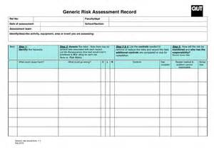 church risk management plan template generic risk assessment record form in word and pdf formats