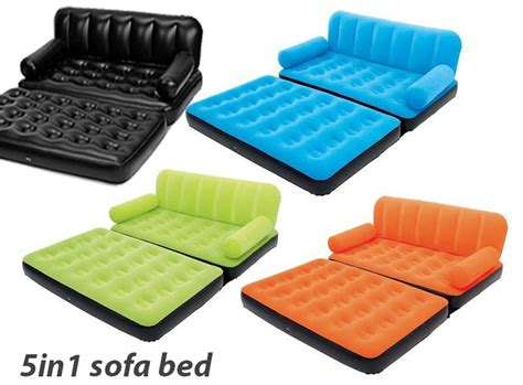Air Sofa 5 In 1 Bed by Colored Air Lounge Sofa Bed 5 In 1 In Pakistan