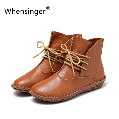 Whensinger 2017 Leather Shoes Handmade - 癡陣hensinger 2017 grain grain leather fashion
