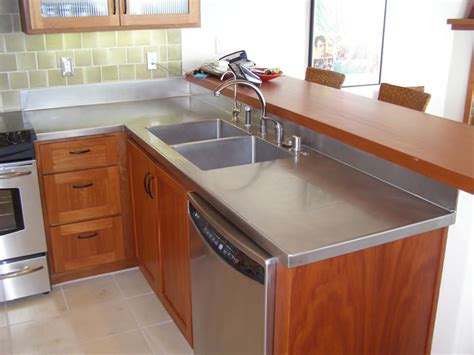 Types Of Kitchen Counter Tops Stainless Steel Countertops Ideas