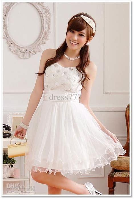 imagenes de vestidos de novia para jovenes vestidos blancos cortos para adolescentes buscar con