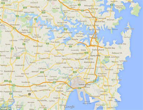 suburbs of map map of sydney suburbs sydney map suburbs australia