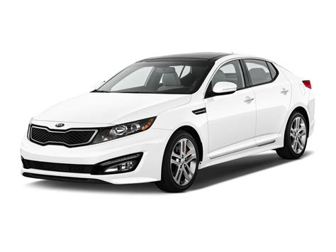 2014 White Kia Optima 2014 Kia Optima Sxl Turbo White Top Auto Magazine