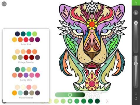 La Moda De Colorear Para Adultos Llega A Internet 12 Webs Coloring Book App