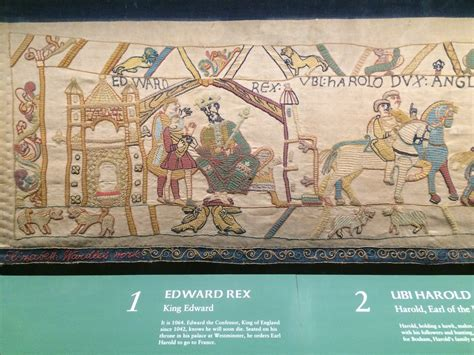 Tapisserie De Bayeux Description by File Bayeux Tapestry Replica In Reading Museum Jpg