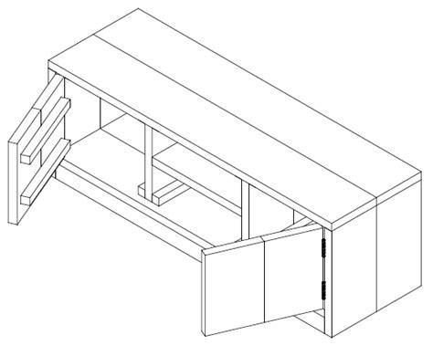 tv meubel maken tekening bekend tv meubel maken tekening jw73