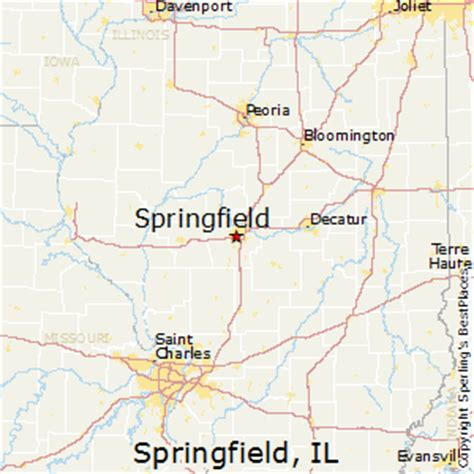 springfield il map best places to live in springfield illinois