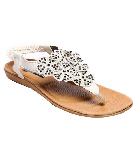 white comfort sandals nell comfortable white sandals price in india buy nell
