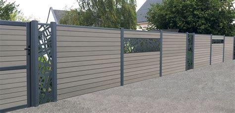 Idee De Cloture Exterieur 4111 by Des Lames D 233 Coratives En Aluminium Pour Ma Cl 244 Ture