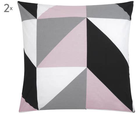 kissenbezug grau rosa renforc 233 kissenbez 252 ge selina in rosa grau gt gt westwingnow