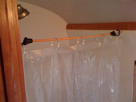 Rv Shower Rod by Use Bungee Cords To Make More Room In A Tight Rv Shower