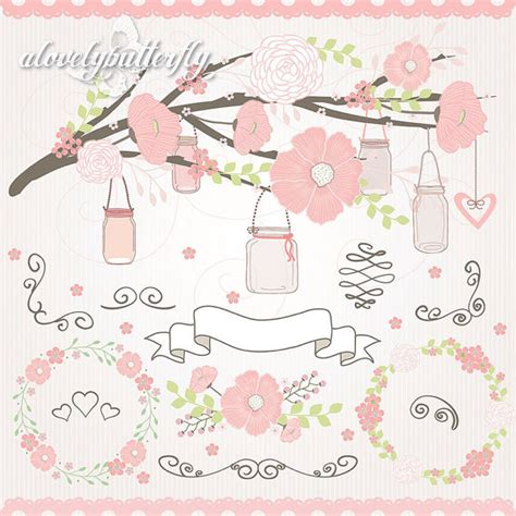 wedding vector file vector file wedding flower clipart jar clipart