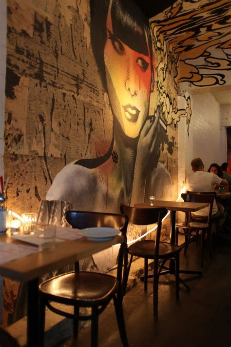 interior wall paint design pictures cafe design