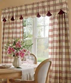 Country Plaid Kitchen Curtains Plaid Curtains On Tier Curtains Country Curtains And Curtains