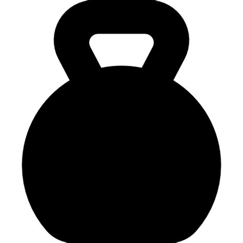Kettlebell Clipart Outline by Kettlebell Icon