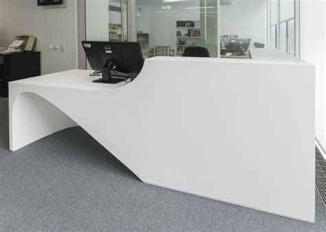 corian office table 20 best corian reception table images on