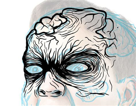 tutorial illustrator zombie how to create a gruesome zombie illustration