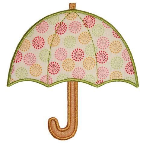umbrella applique pattern umbrellas and appliques on pinterest