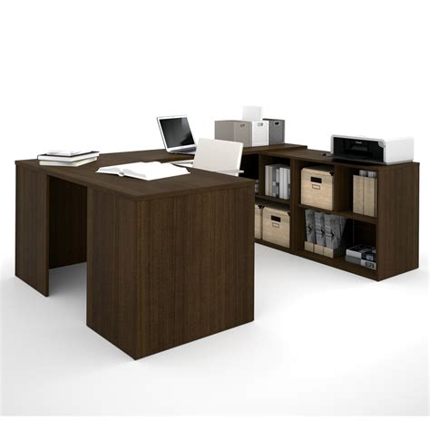 I3 U Shaped Desk In Tuxedo I Shaped Desk
