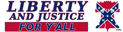 Justice Not For All heritage not bumper sticker 1 75 olde south
