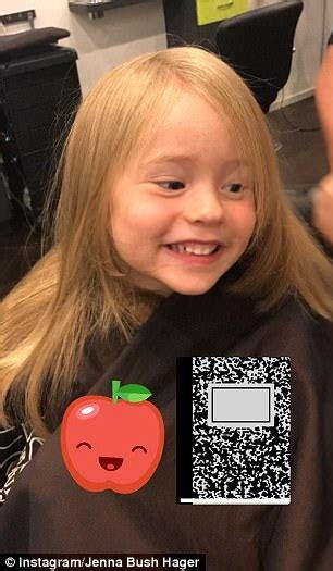 jenna bush hagar new hairdo jenna bush hager s daughter poppy gets her first haircut