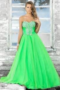 neon green prom dresses neon green and white wedding