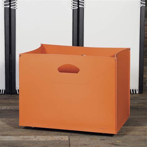 porta legna da interno borsa portalegna in cuoio con ruote da interni modello gastone