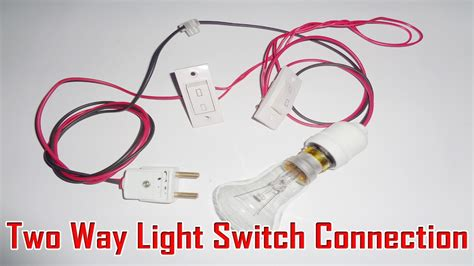 two way light switch connection 2 way switch connection