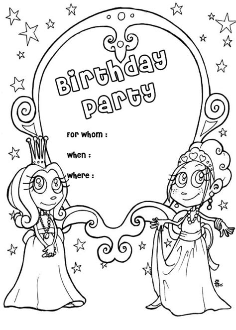 Free Printable Happy Birthday Coloring Pages For Kids Happy Birthday Coloring Pages For