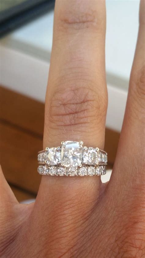 Wedding Bands With Stones by 1000 Ideas About Pave Wedding Bands On