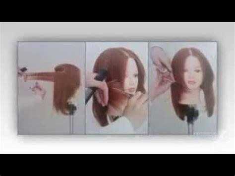 cara gunting rambut layer cara menggunting rambut layer youtube